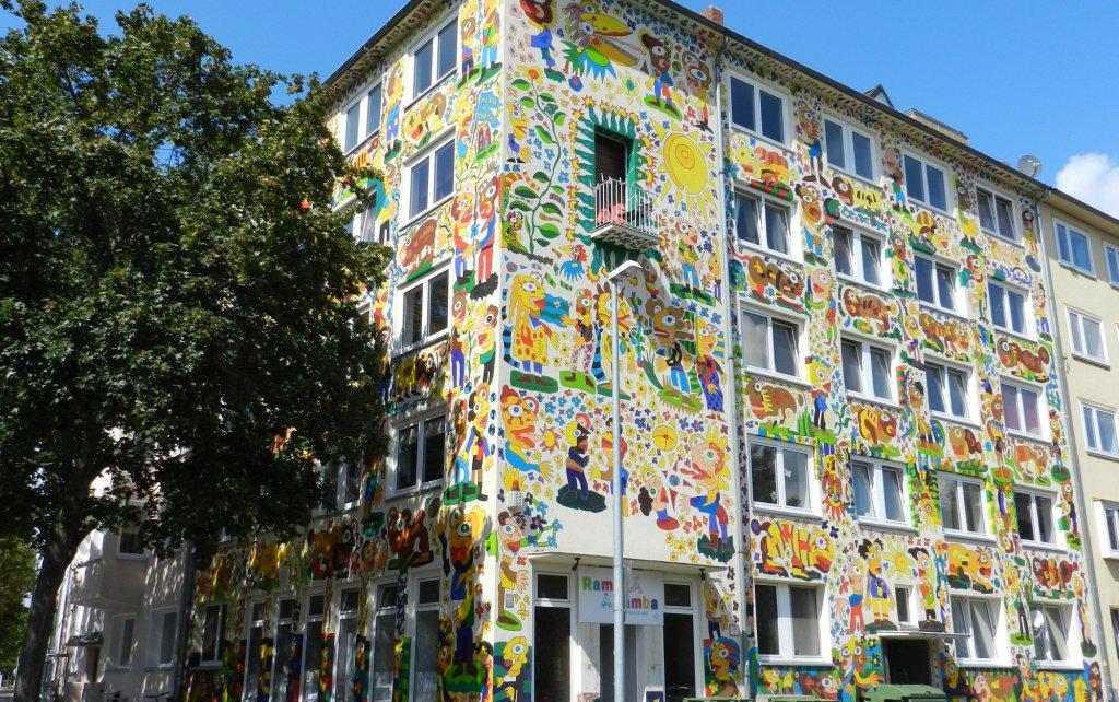 Hannover Vahrenwald – Kunst am Bau