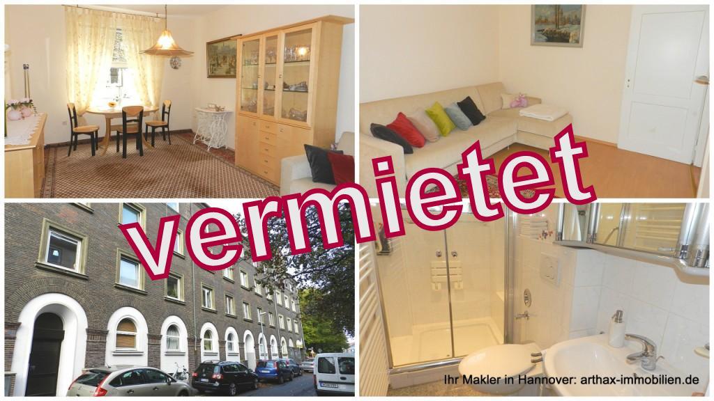 Hannover Südstadt – Möbliertes Zimmer in netter 2er WG