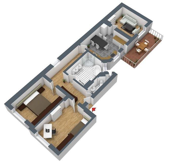 Sanierte Altbauwohnung In Hannover Südstadt Zu Vermieten