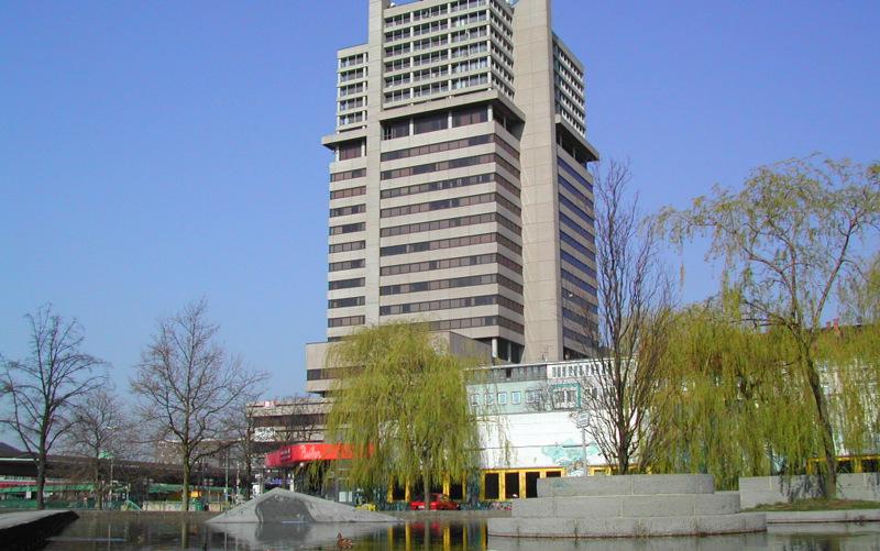 Das Bredero Hochhaus in Hannover Oststadt
