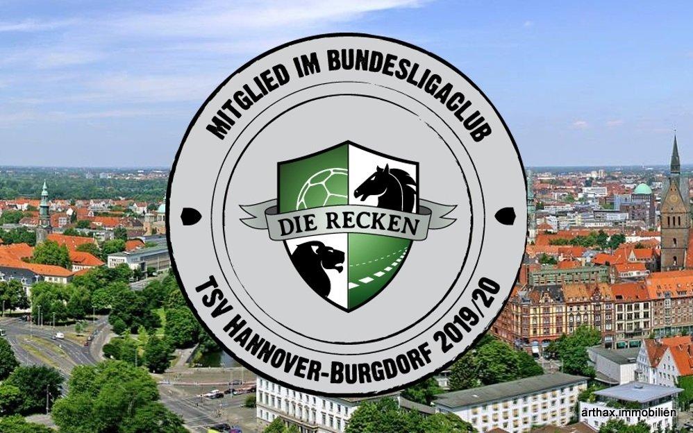 Die Recken Hannover und arthax immobilien sind Partner